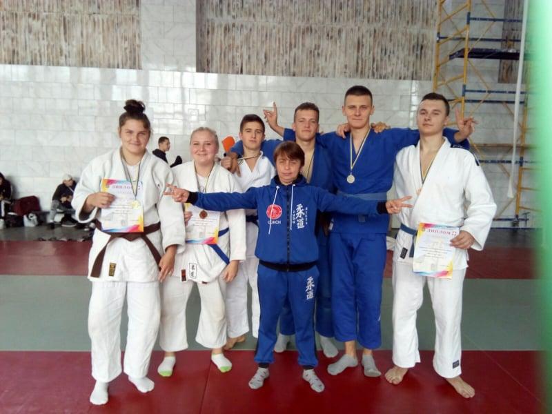 Відкритий чемпіонат Волинської області з дзюдо серед чоловіків та жінок