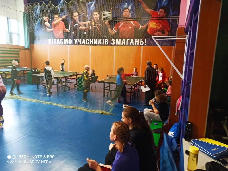 """Чемпіонат КЗ """"ДЮСШ №2 Луцької міської ради"""" з тенісу настільного серед юнаків та дівчат"""